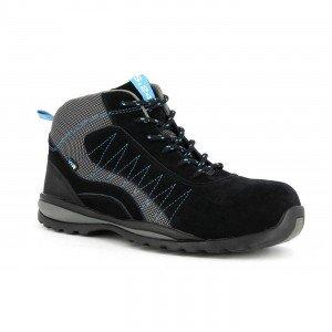 NOIR - Chaussure de sécurité S3 professionnelle de travail noire ISO EN 20345 S3 mixte manutention artisan logistique chantier