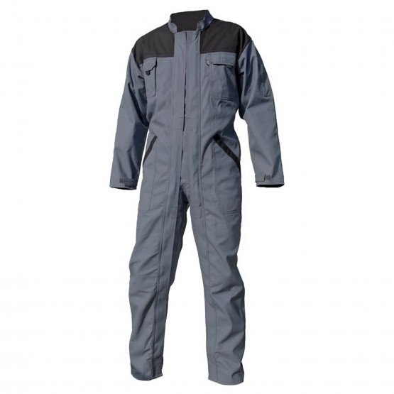 Combinaison travail double zip Coton majoritaire professionnelle homme
