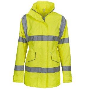 ORANGE - Veste haute visibilité Femme professionnelle de travail femme transport chantier manutention artisan