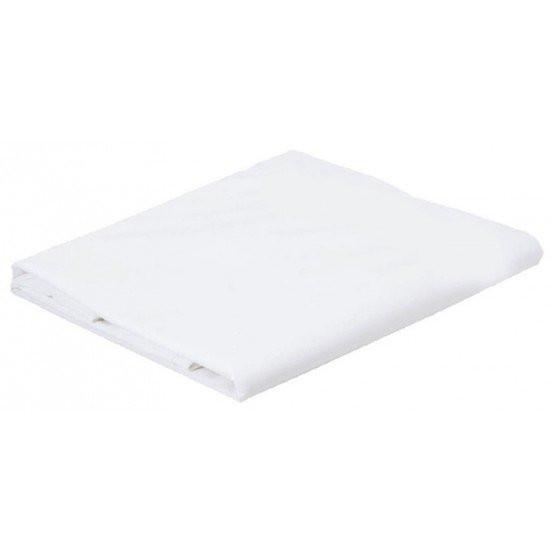 BLANC - Housse de couette professionnelle hébergement foyer blanche Coton/Polyester serveur cuisine hôtel restauration