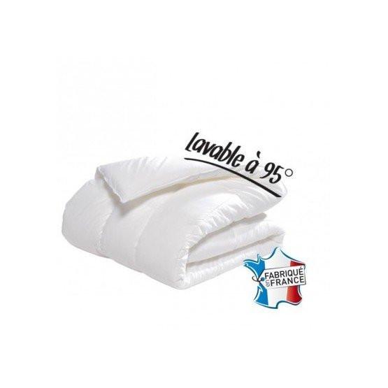 Lot de 4 couettes Morphee 160 x 200 cm blanc garnissage synthetique maisons medicalisees internat hotel motel professionnel