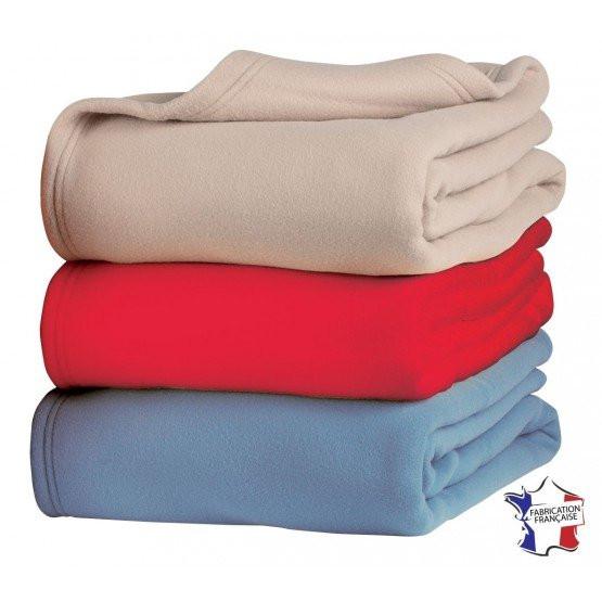 Lot de 10 couvertures Mont blanc 220 x 240 cm plaid ehpad instituts medicalisés foyer internat maison de retraite