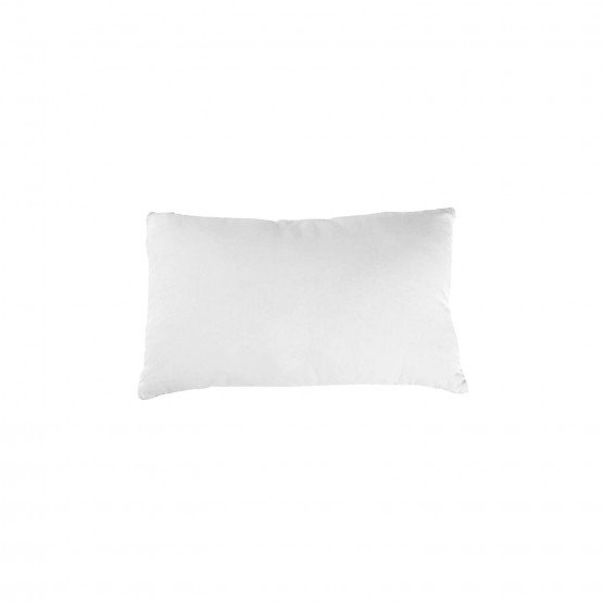 BLANC - Taie d'oreiller professionnelle hébergement foyer blanche Coton/Polyester cuisine restaurant restauration serveur