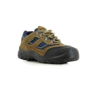 CAMEL - Chaussure de sécurité S3 professionnelle de travail en cuir ISO EN 20345 S3 homme artisan entretien chantier menage