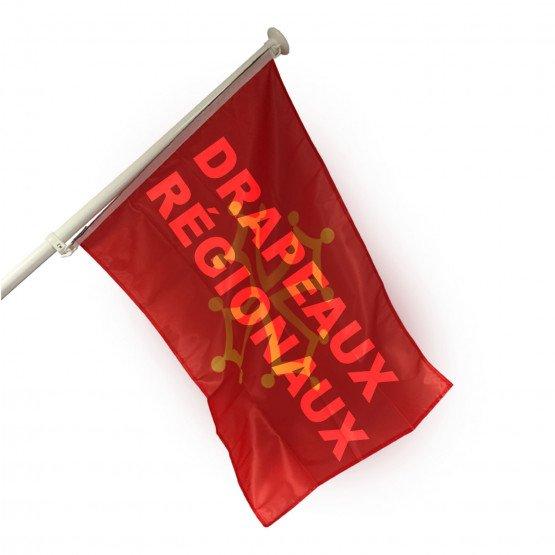 DRAPEAUX PAVILLONS REGIONAUX équipement mairie collectivités pavoisement -