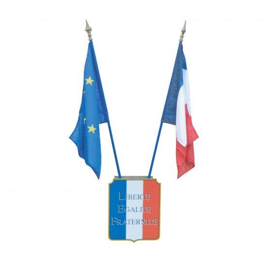 KIT LOI PEILLON école collège lycée drapeau france europe