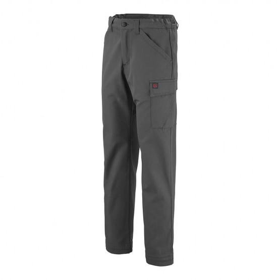 pantalon de travail Lafont dioptase pantalons multipoches btp chantier industrie - ARDOISE