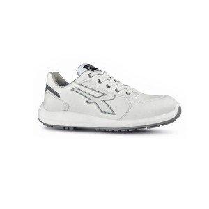 BLANC - Chaussure de sécurité S3 professionnelle de travail blanche ISO EN 20345 S3 mixte crèche foyer restauration serveur