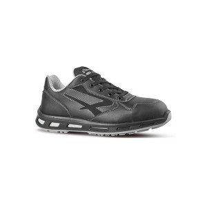 NOIR - Chaussure de sécurité S3 professionnelle de travail noire ISO EN 20345 S3 mixte logistique chantier transport artisan