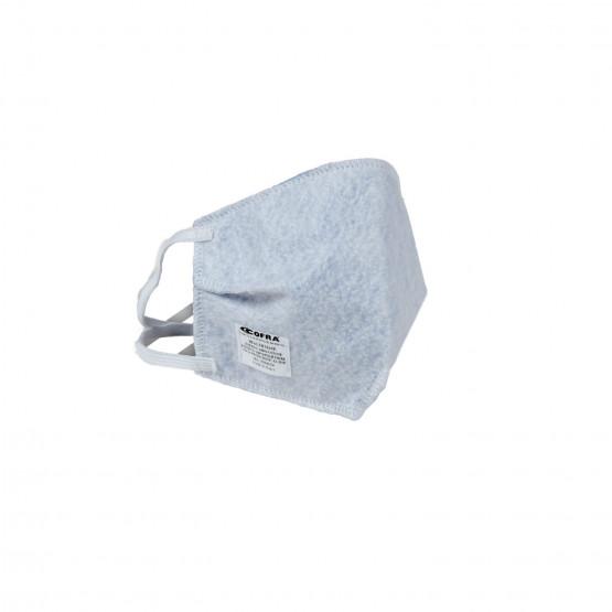 BLANC - Masque visage sanitaire professionnelle de travail 100% Coton - PROMO internat aide a domicile école auxiliaire de vie