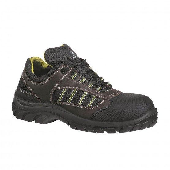 MARRON - Chaussure de sécurité S3 professionnelle de travail en cuir ISO EN 20345 S3 mixte artisan entretien chantier menage