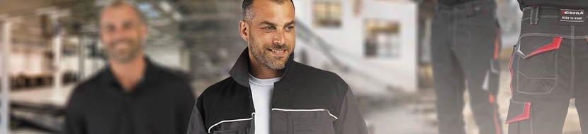 tenue de travail chef d'atelier mecanicien veste de travail bleu de travail combinaison de travail pantalon de travail chaussure de securite