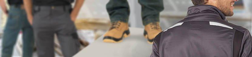 vetement carreleur veste de travail pantalon carreleur genouillere pantalon de travail carreleur chaussure de sécurité