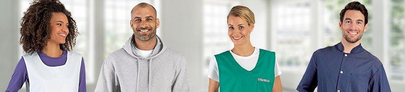 vêtement de travail agent d'entretien blouse de ménage vêtement de ménage sabot de ménage chaussures de sécurité sabot de sécurité
