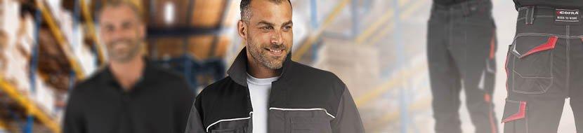 tenue de travail cariste vetement de travail manutentionnaire veste de travail pantalon de travail chaussure de securite