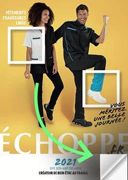 couverture du catalogue Echoppe 2021