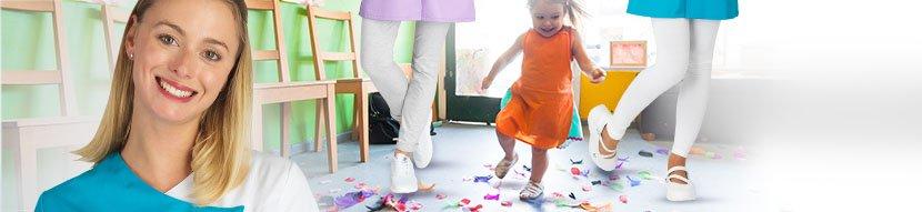 vêtements professionnels écoles crèches centres de loisire