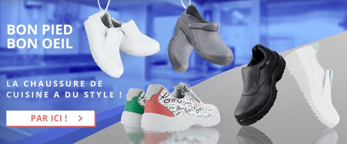 La chaussure de cuisine a du style !