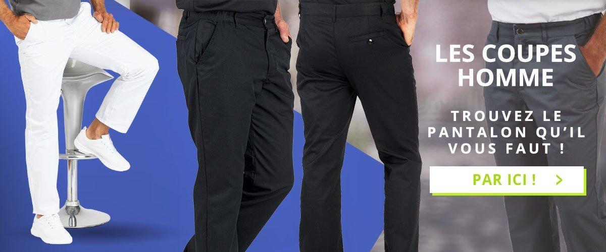 Nous avons le pantalons coupes homme qu'il vous faut !